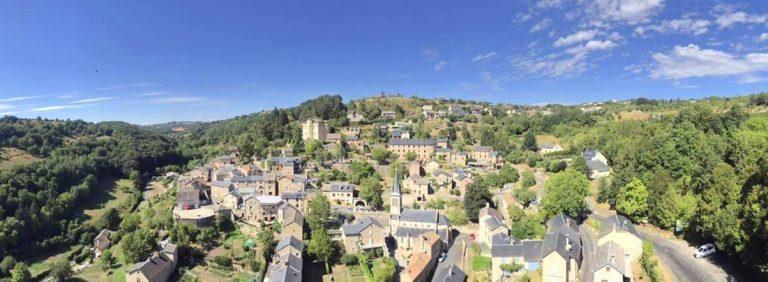 Saint-Léons vue aérienne